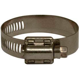 "7/16"" - 29/32"" Stainless Steel Worm Gear Clamp w/ 1/2"" Band"