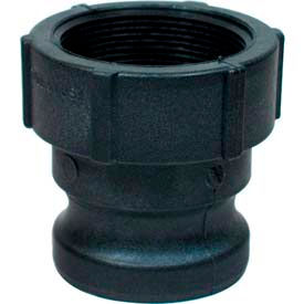 "2"" A Polypropylene Cam and Groove Adapter x Female NPT"