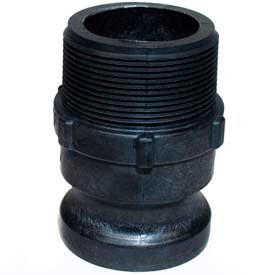 """1"""" F Polypropylene Cam and Groove Adapter x Male NPT"""