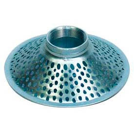 "1-1/2"" FNPT Top Hole Plated Steel Skimmer Strainer"