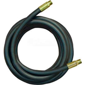 """Apache Hydraulic Hose Assembly 98398327, 100R2AT Cpld., 3500 PSI, 1/2"""" MNPT, 1/2"""" Hose ID X 84""""L"""