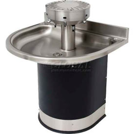 Acorn Washfountain Semi-Circular, 4 Stations, Sensor Operated