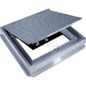 Acudor 36x36 Aluminum Floor Door Channel Frame With Drain