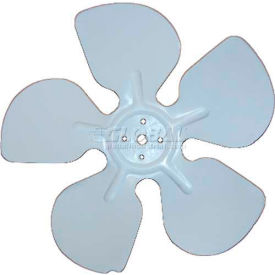 "Acme Miami Aluminum Fan Blade 30614-12 - 6"" Ccw 1/4"" Bore - Pkg Qty 12"