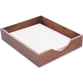 Wood Desk Tray Letter Size Walnut
