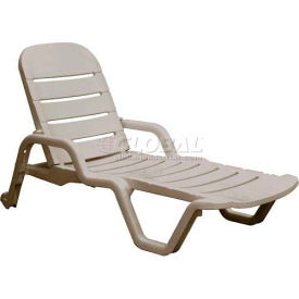 Adams® Siesta Chaise Lounge - Desert (Sold in Pk. Qty 6) - Pkg Qty 6