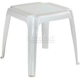 Adams® Stacking Outdoor Side Table - Desert (Sold in Pk. Qty 12) - Pkg Qty 12