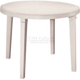 "Adams® 38"" Round Outdoor Table - Desert (Sold in Pk. Qty 3) - Pkg Qty 3"