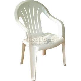 Adams® Regal Fan Mid Back Outdoor Armchair - Desert (Sold in Pk. Qty 4) - Pkg Qty 4