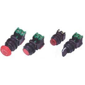 30mm Non Metallic, Non Illuminated, 3 Pos. Maintained, Knob Type Selector Switch