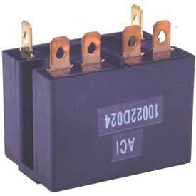 Advance Controls 111730, Motor Starting Relay, 100 Series, DPST, NO DM, Coil 24VDC