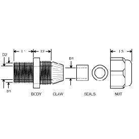 Pz6fb25fe Cz5a87298 Waterproof Naa Thermocouple Connection Head With Internal Thread Iso furthermore M101 options likewise Rectangular Junctions G Series likewise Pro info likewise View 128. on 4 wire cable gland
