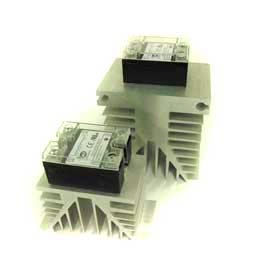 Solid State Relay, Heat Sink, Used For All Solid State Relays, Aluminum, Large