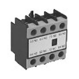 Advance Controls 135089 Auxiliary Contact, 3NO+1NC, Top Mount