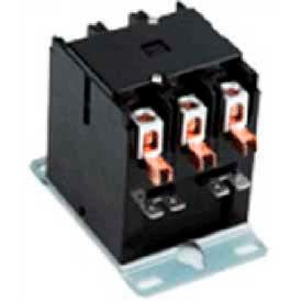 Definite Purpose Contactors, DPA Series, 30 Amp, 3 Pole, Coil 208/240VAC