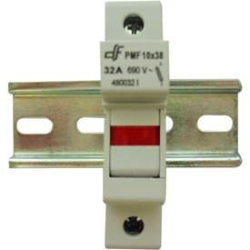 Advance Controls 152403 DIN Rail Fuse Holder, 1 Pole, Class CC Fuse, Indicator Light