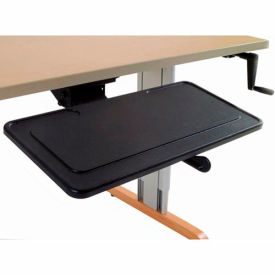 Fully Articulating Keyboard Arm with Tray