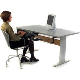 """Accella™ Height Adjustable Activity Table - 60""""L x 24""""W Gray"""