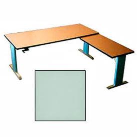 Accella™ Height Adjustable Right Return Desk - Gray