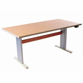 """Infinity™ Powered Height Adjustable Activity Table - 60""""L x 30""""W Maple"""