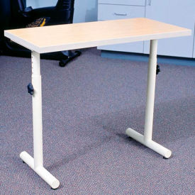"Knob Adjusted Hand Therapy Table - 33""L x 16""W Maple"