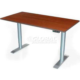 """Vox Workstation with Power Adjustment - 60""""L x 24""""W American Maple"""