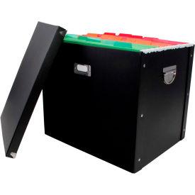 "Advantus® Heavy Duty Paperboard Letter and Legal Size File Box 63003 - 16""L x 13""W x 13-1/4""H - Pkg Qty 4"