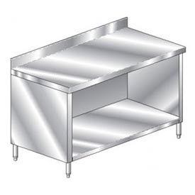 "Aero Manufacturing 2TGBO-3096 96""W x 30""D Premium Cabinet with 4"" Backsplash, Galv."