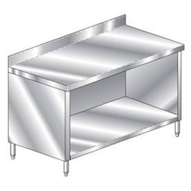 "Aero Manufacturing 2TSBO-24120 120""W x 24""D Premium Cabinet with 4"" Backsplash"