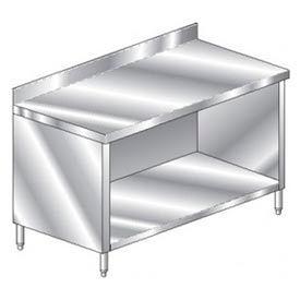 "Aero Manufacturing 2TSBO-2472 72""W x 24""D Premium Cabinet with 4"" Backsplash"