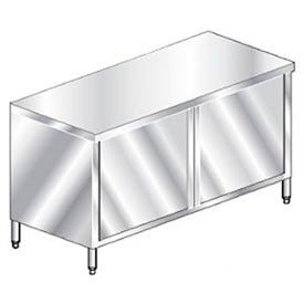 "Aero Manufacturing 2TSOHD-3072 72""W x 30""D Premium Flat Top Cabinet, Hinged Doors"