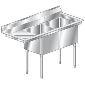 Aero Deluxe NSF Sink F2L Series 3F2-2020-20L