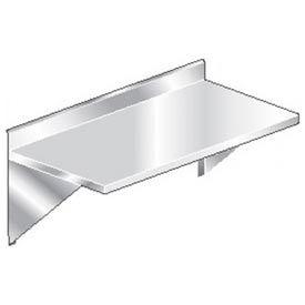 "Aero Manufacturing 3TWMB-3084 84""W x 30""D Wall Mount Table with 4"" Backsplash"