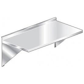 """Aero Manufacturing 3TWMS-2424 24""""W x 24""""D Wall Mount Table with 2-1/4"""" Backsplash"""