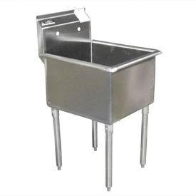 Economy SS Non-NSF One Bowl Sink - 24 x 18