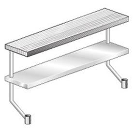 """Aero Manufacturing APS-872 72""""W x 8""""D Adjustable Plate Shelf for Equipment Stand"""