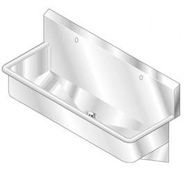 SS NSF Multi-Wash Sink - 18 x 48