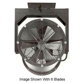 "Americraft 18"" EXP Alum Propeller Fan W/ 1 Way Swivel Yoke 18DA-1/41Y-1-EXP-1/4 HP 3050 CFM"
