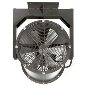 "Americraft 24"" EXP Alum Propeller Fan W/ 1 Way Swivel Yoke 24DAL-3/4L-1-EXP-1Y 3/4 HP 6900 CFM"
