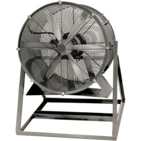 "Americraft 24"" Steel Propeller Fan With Medium Stand 24DS-2M-1-TEFC 2 HP 9100 CFM"