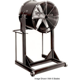 "Americraft 24"" Steel Propeller Fan With High Stand 24DSL-1/2H-3-TEFC 1/2 HP 6060 CFM"