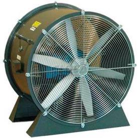 "Americraft 48"" TEFC Aluminum Propeller Fan With Low Stand 48DAL-7-1/2L-3-TEFC 7-1/2 HP 37000 CFM"