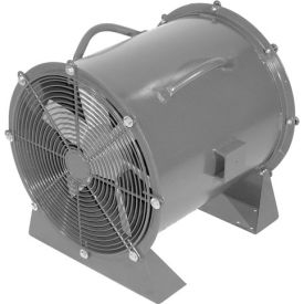 """Americraft 48"""" TEFC Aluminum Propeller Fan With Low Stand 48DALL-10L-3-TEFC 10 HP 39000 CFM"""