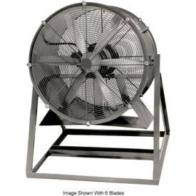 "Americraft 48"" Steel Propeller Fan With Medium Stand 48DSL-10M-3-TEFC 10 HP 42000 CFM"