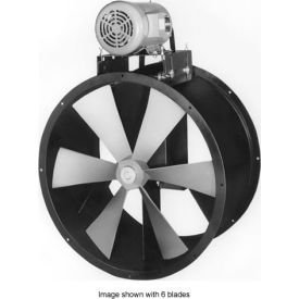 "60"" Totally Enclosed Wet Environment Duct Fan - 3 Phase 5 HP"