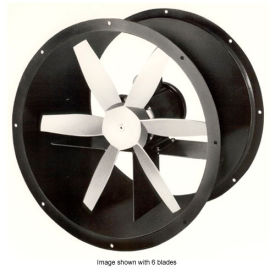 """12"""" Totally Enclosed Direct Drive Duct Fan - 3 Phase 1/4 HP"""