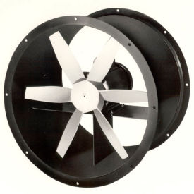 "18"" Explosion Proof Direct Drive Duct Fan - 3 Phase 1 HP"