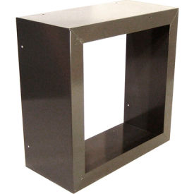 """Fan and Shutter Mounting Box for 18"""" Exhaust Fans"""