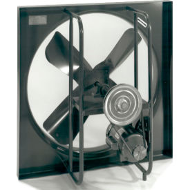 """Motorized Air Supply Damper for 12"""" Exhaust Fans"""