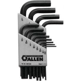 Metric Short Arm Hex Key Sets, ALLEN 56008